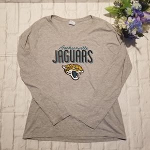 Jacksonville Jaguars Team Shirt M Long Sleeve Logo